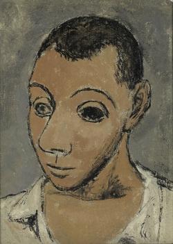 11-Picasso-Autoportrait