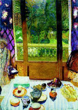 Pierre bonnard for Salle a manger a la campagne bonnard