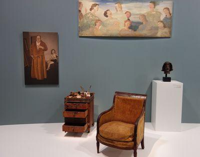 Derain balthus giacometti une amiti artistique for Balthus la chambre turque