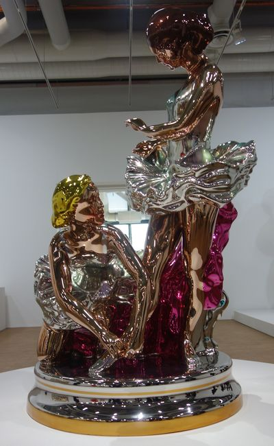 Jeff koons for Venus au miroir