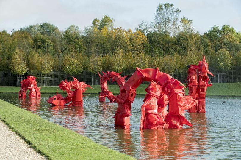 Voyage d 39 hiver 16 artistes contemporains dans les for Bassin miroir